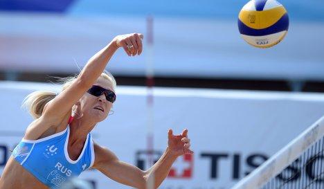 Россиянки завоевали бронзу ЧЕ по пляжному волейболу :: Спорт как есть - футбол, хоккей, КХЛ, волейбол, баскетбол, Рубин, Ак Барс