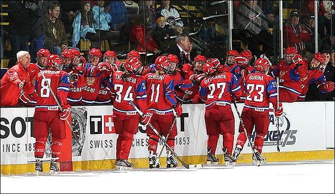 сборная россии по хоккею 2012 состав: