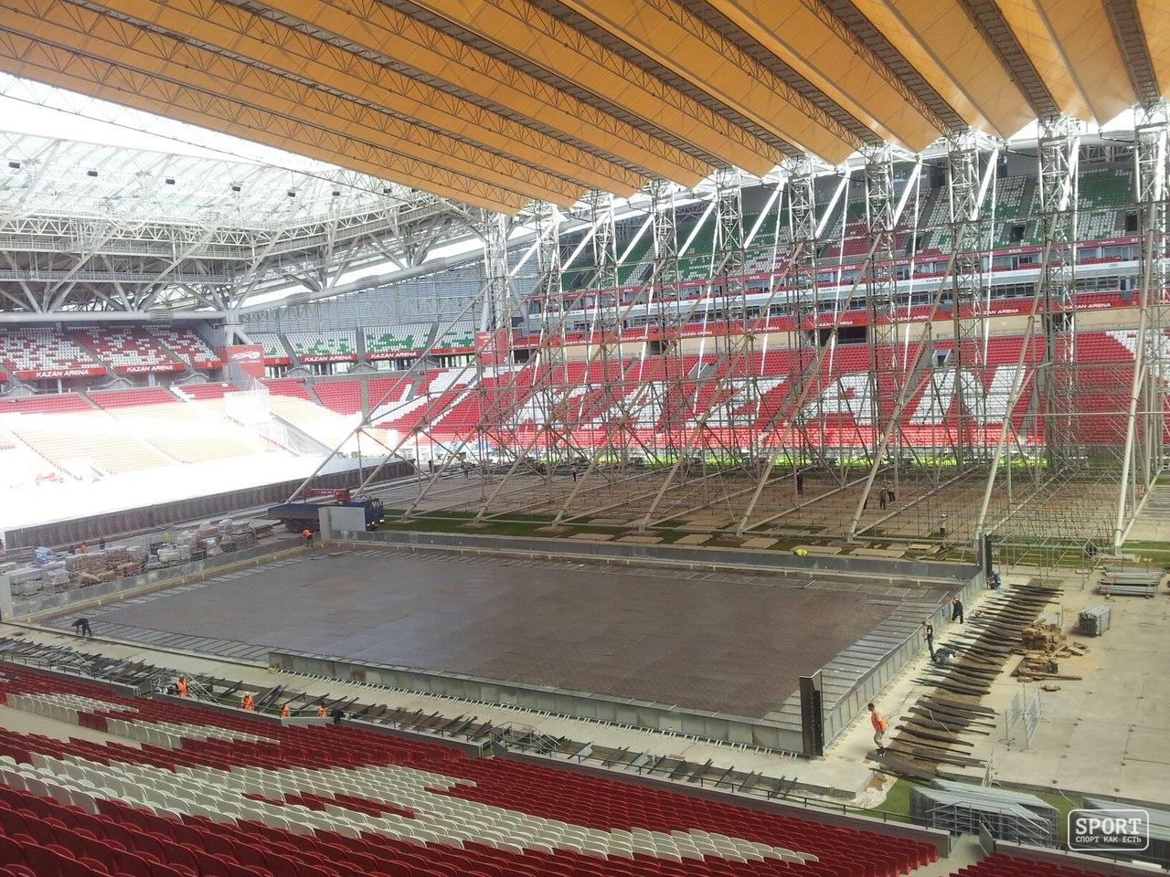 стадион казань-арена схема трибуны а