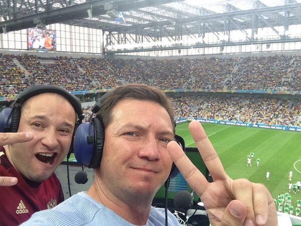 Константин Генич и Георгий Черданцев