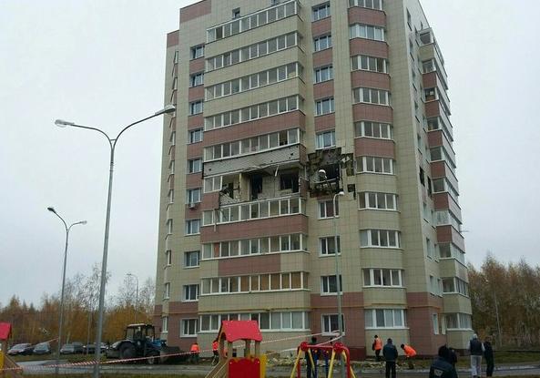 МЧС: хлопок газа в жилом доме Зеленодольска не повредил несущие конструкции