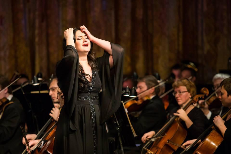 Концерт итальянской певицы анны лизы минетти