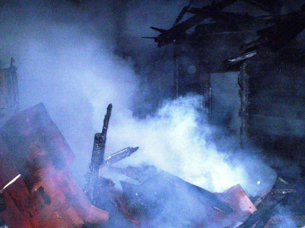 В одном из районов Татарстана заживо сгорели три человека