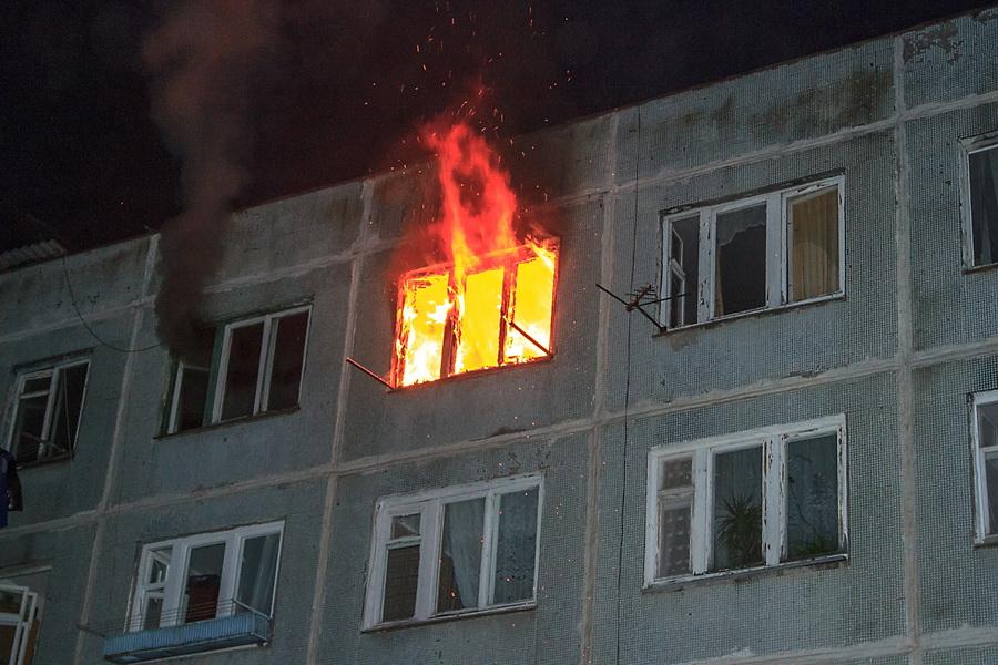 При пожаре в Татарстане пострадал ребенок — МЧС