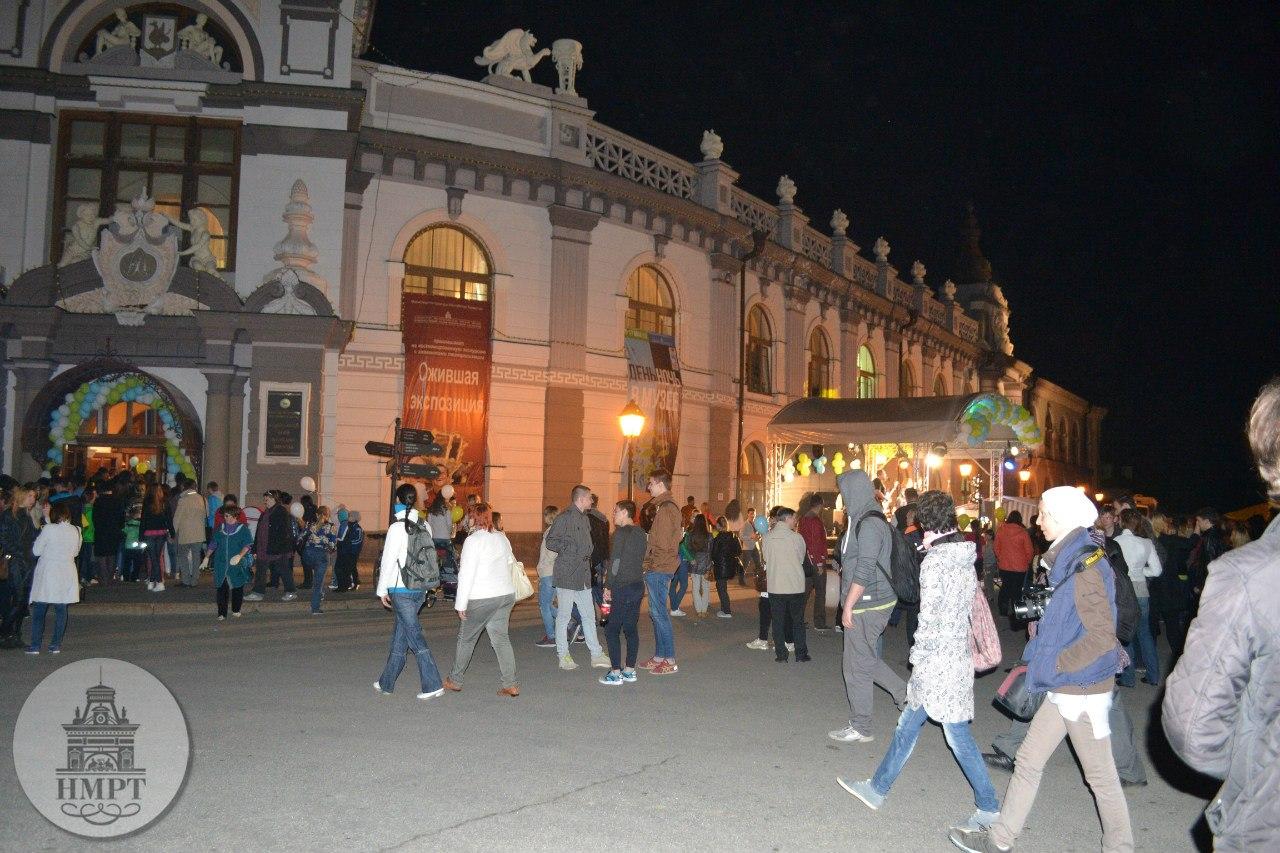 Около 100 тыс. нижегородцев стали участниками акции «Ночь музеев»