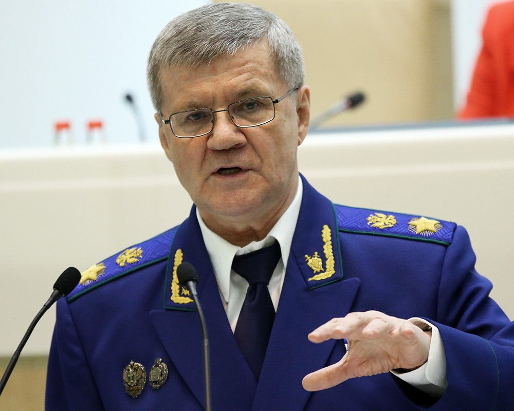 Генпрокурор Российской Федерации призвал наделить прокуроров полномочиями внесудебной блокировки интернет-ресурсов