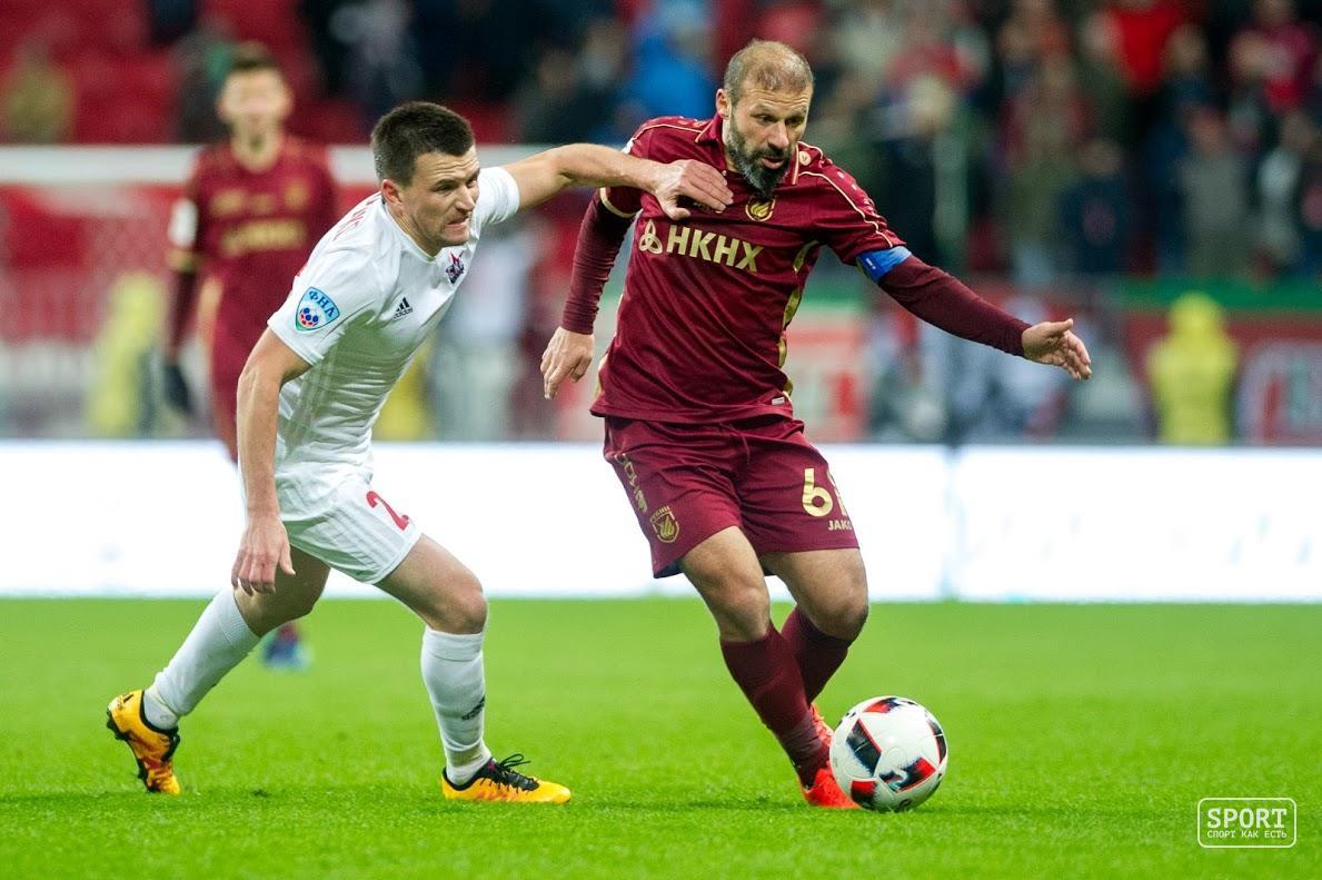 «Рубин» обыграл «Сибирь» ивышел вполуфинал Кубка РФ пофутболу