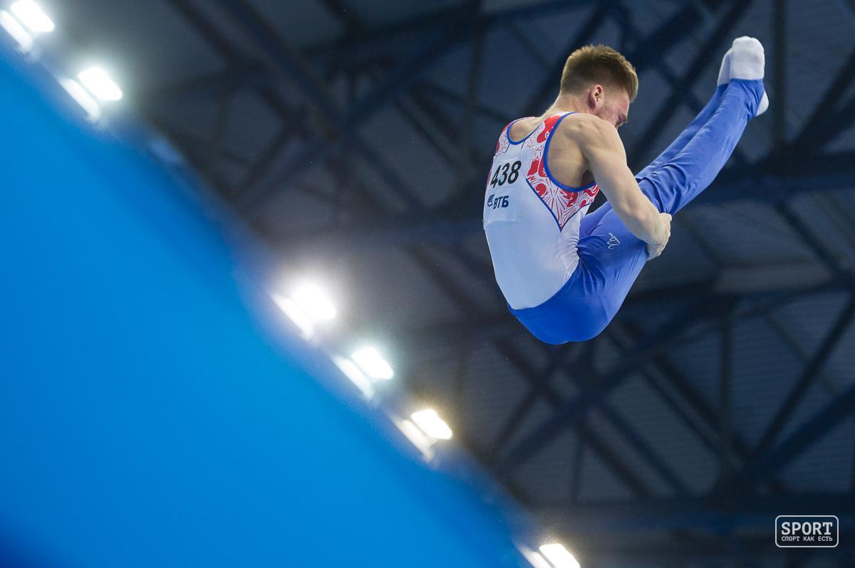 Свердловский гимнаст Давид Белявский одержал победу два золота чемпионата Российской Федерации