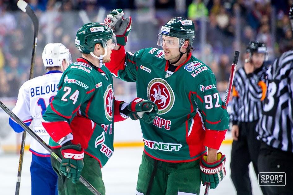Хоккеисты «Спартака» одержали минимальную победу над «АкБарсом»