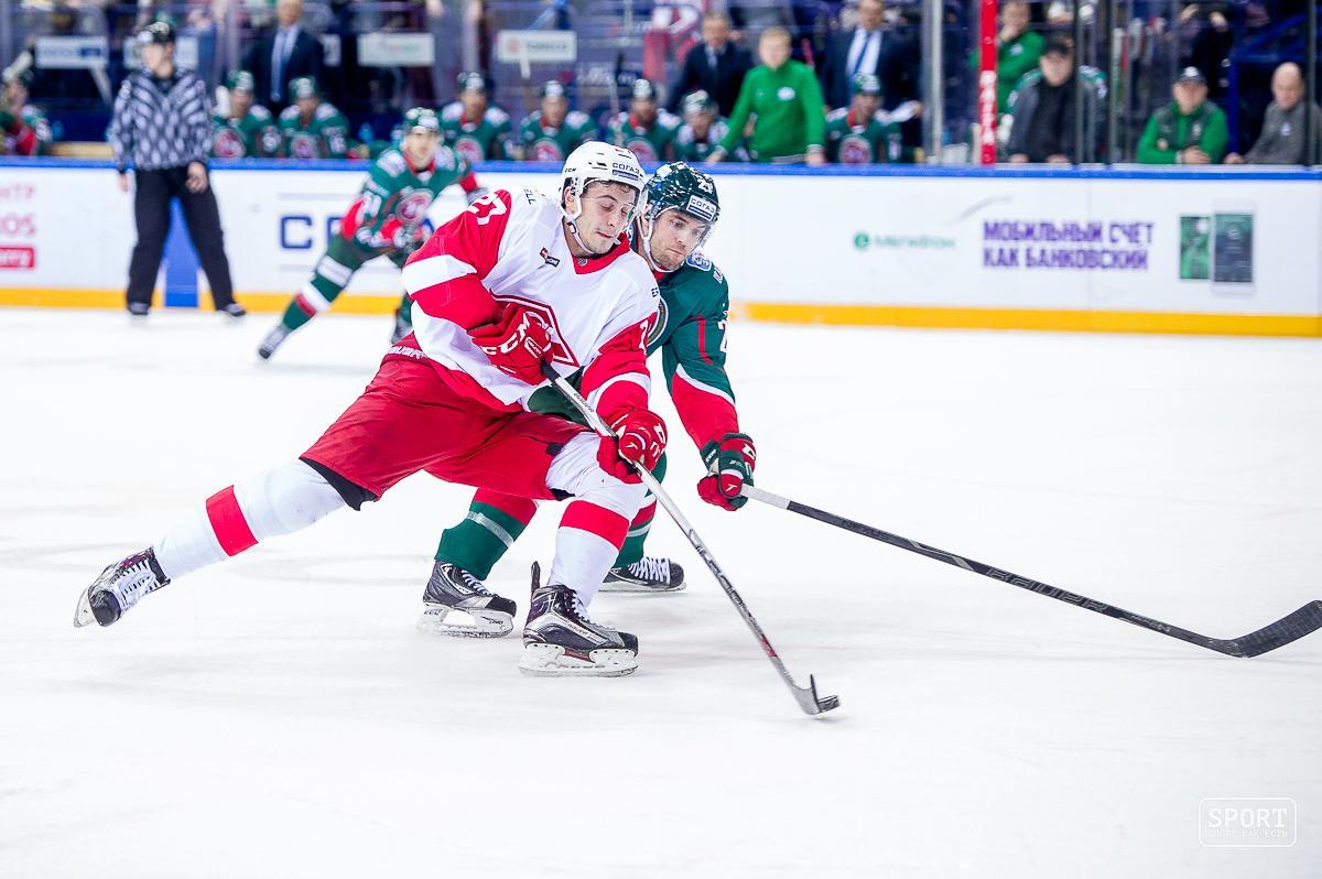 КХЛ отстранила судью заошибочно засчитанный гол «АкБарса» вворота «Спартака»