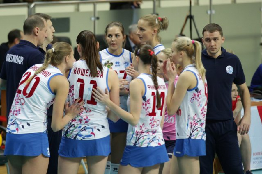 Волейболистки краснодарского «Динамо» бойкотировали матч содноклубницами изКазани