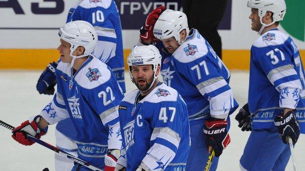 Сборная Запада с рекордным счетом обыграла команду Востока в Матче звезд КХЛ