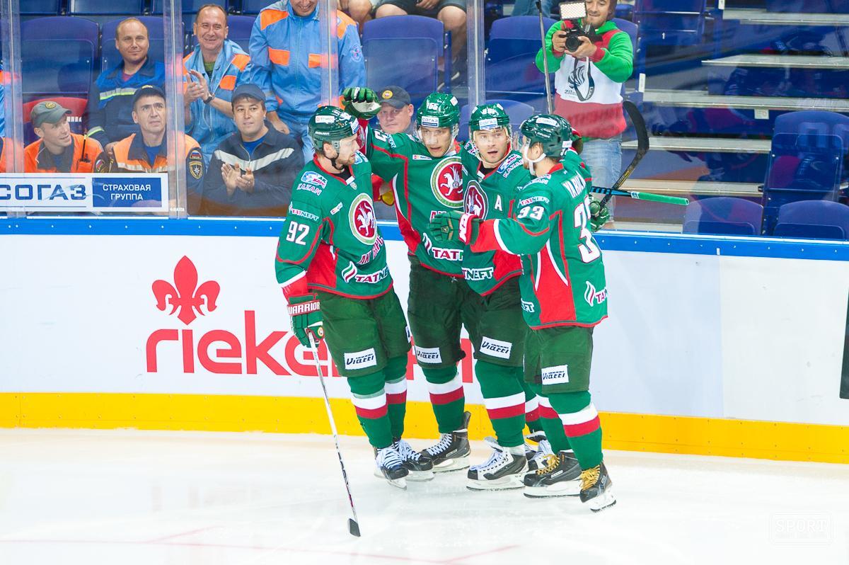 ВКонтинентальной хоккейной лиге насей день назначены 4 игры