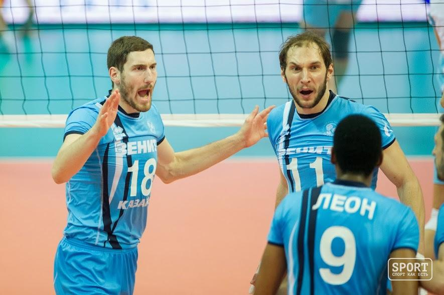 «Зенит-Казань» разгромил «Аркас» вЛиге чемпионов