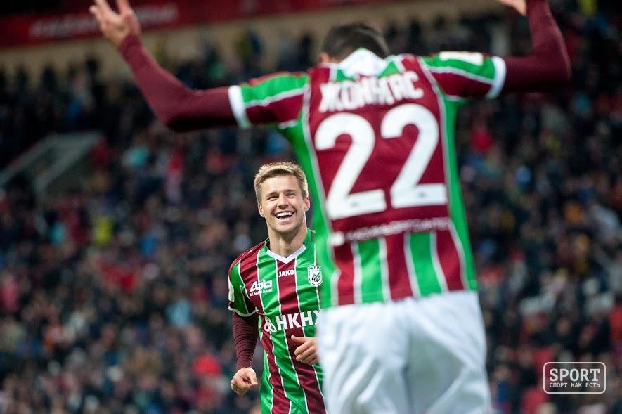 «Рубин» обыграл «Соннам» благодаря голам Канунникова иТкачука
