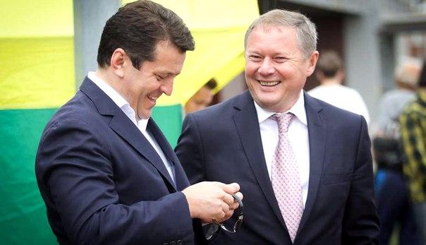 Ильсур Метшин - слева и Ильгиз Фахриев