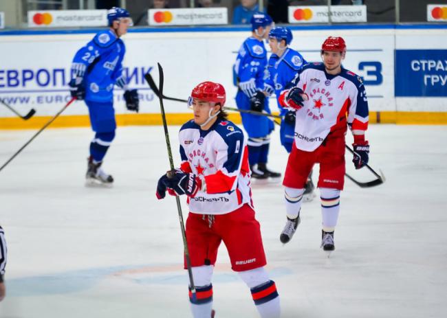 «Красная Армия»— 2-кратный владелец Кубка Харламова
