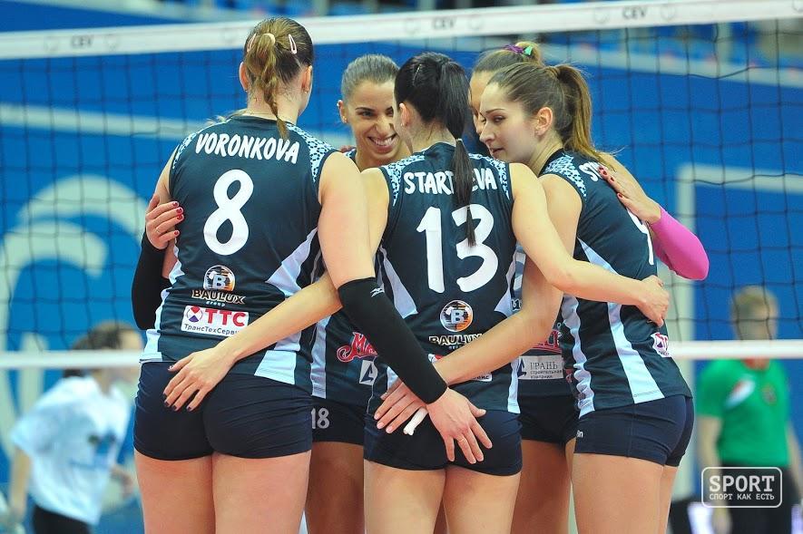 Волейболистки «Динамо»— вполуфинале чемпионата Российской Федерации