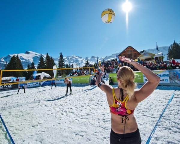 В Российской Федерации признали волейбол наснегу официальной спортивной дисциплиной