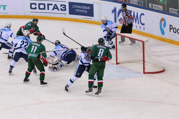 Ак Барс обыграл Сибирь и прервал 5-матчевую серию поражений