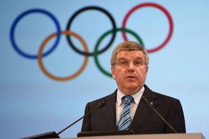 Руководитель МОК непонял, зачто отстранили русских олимпийцев