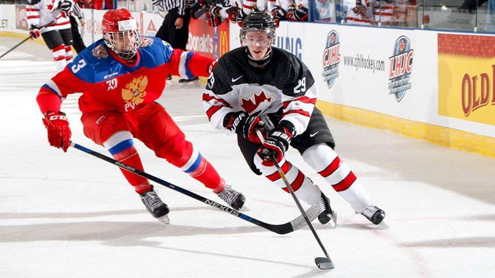 Юниорская сборная Российской Федерации одолела команду западной Канады наКубке вызова