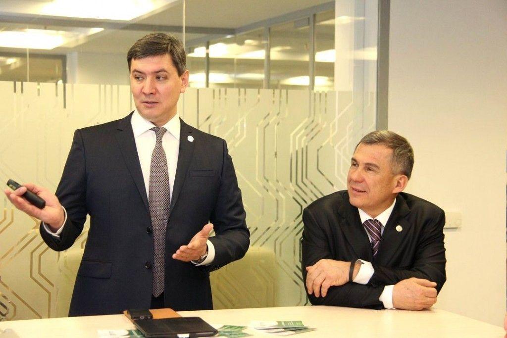 Сурков посетил казанский it парк