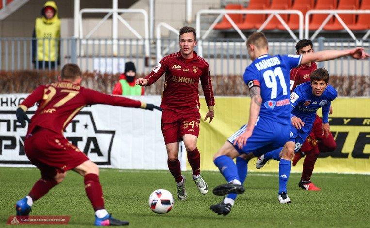 «Рубин» и«Оренбург» сыграли нулевую ничью вКазани