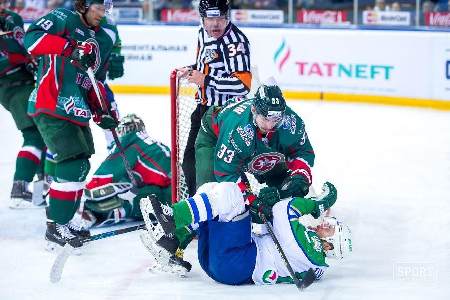 Сегодня «АкБарс» сыграет против «Салавата Юлаева» в«зеленом дерби»