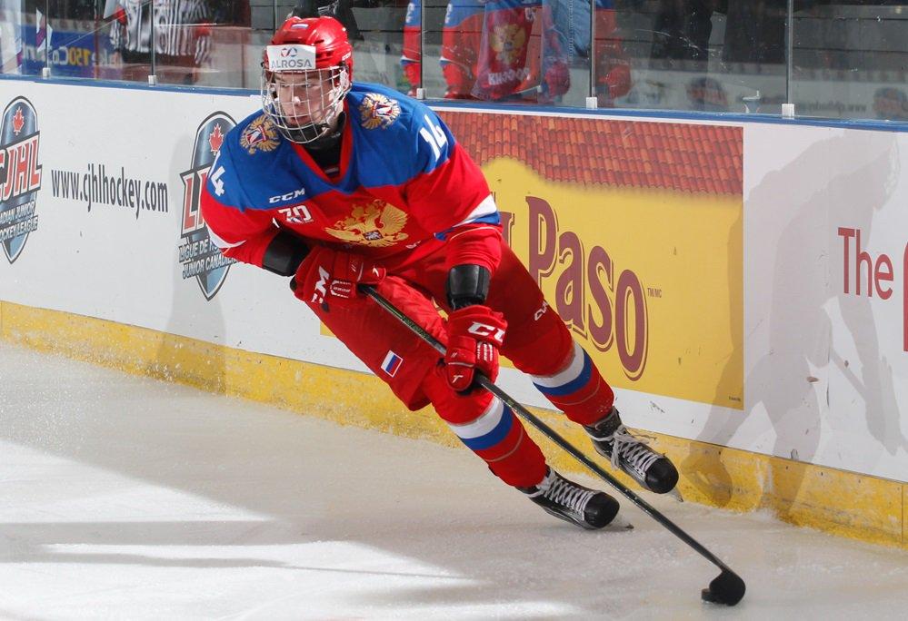 Один изфаворитов драфта НХЛ-2018 Свечников— MVP Кубка вызова