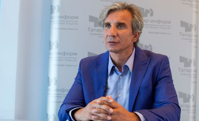 Ирек Зиннуров— претендент напост президента федерации водного поло РФ