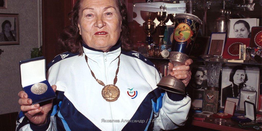 Скончалась первая советская олимпийская чемпионка