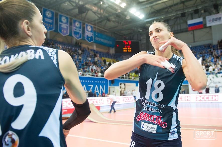 «Динамо-Казань» продолжит борьбу заКубок ЕКВ