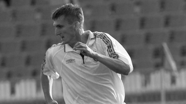 Вавтокатастрофе умер прежний нападающий футбольного ЦСКА Кузьмичев