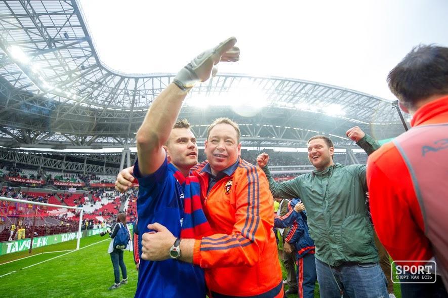 Игорь Акинфеев установил рекорд поколичеству игр заодин клуб