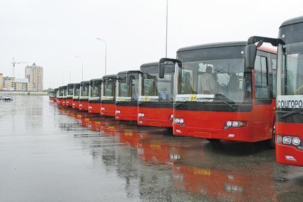 С 1 мая общественный транспорт