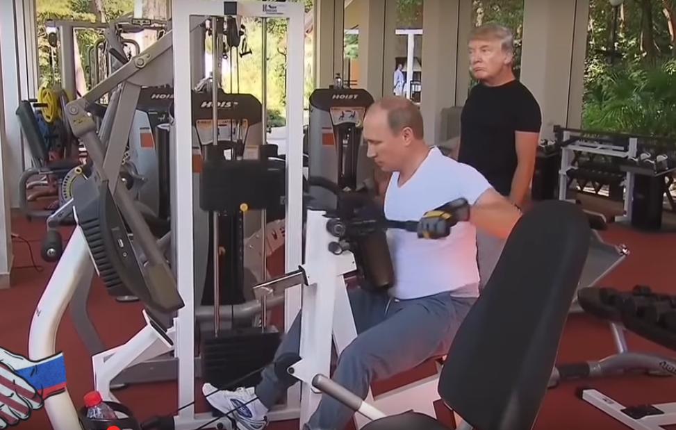 Показываем клип нарок-хит о«Рутин Тутин Путине»