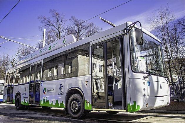 «Камаз» выпустил электробус, который можно эксплуатировать в суровых российских условиях