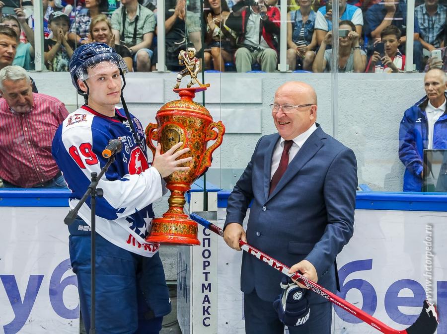 Нижегородское «Торпедо» в 4-й раз стало обладателем Кубка губернатора похоккею