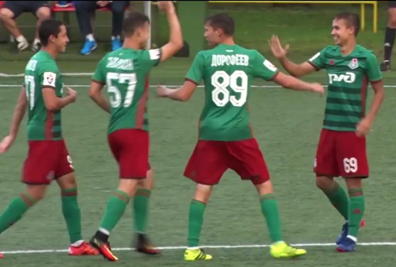 Молодой российский игрок забил гол-шедевр