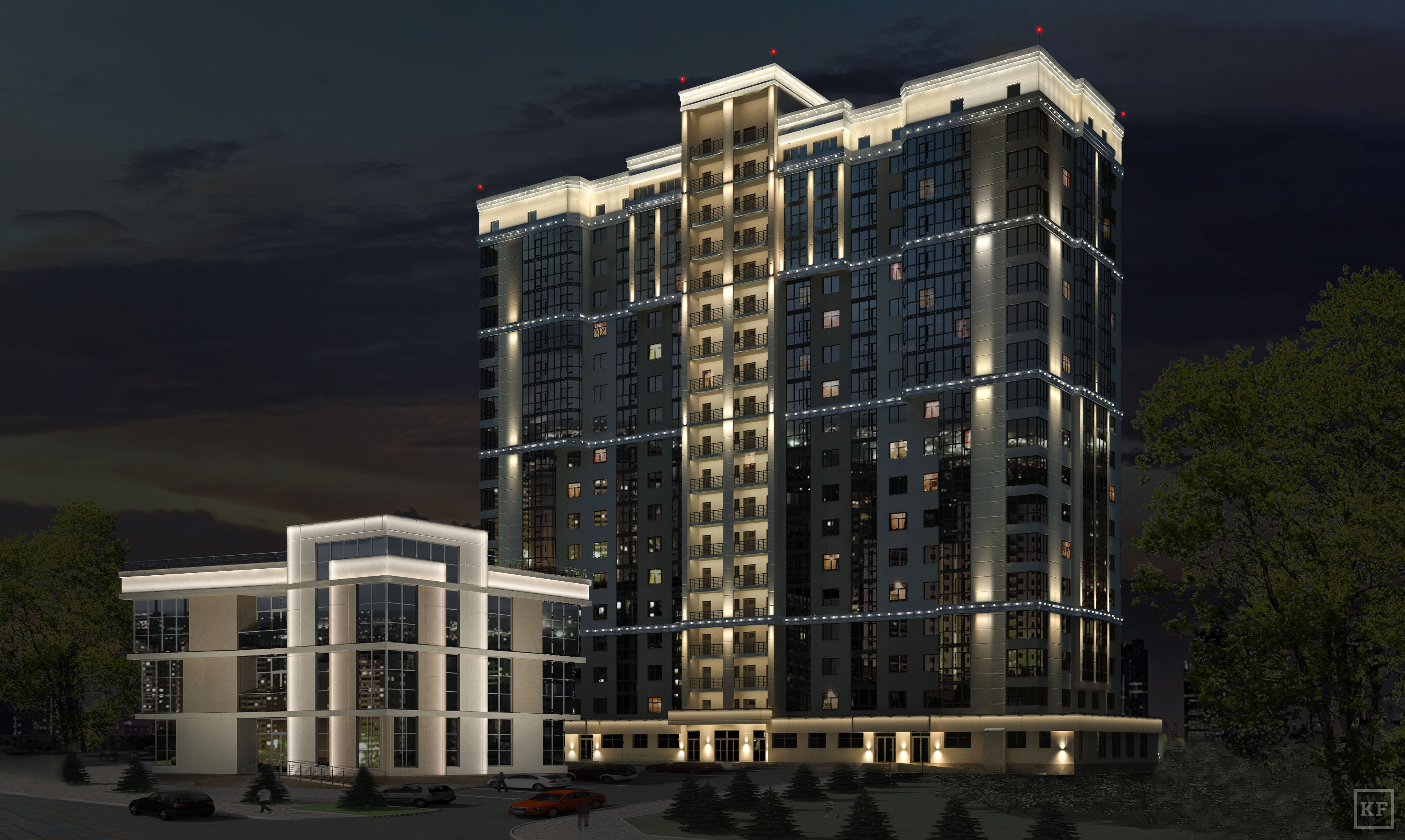 Красивые фасады многоэтажных домов фото узнать отзывы