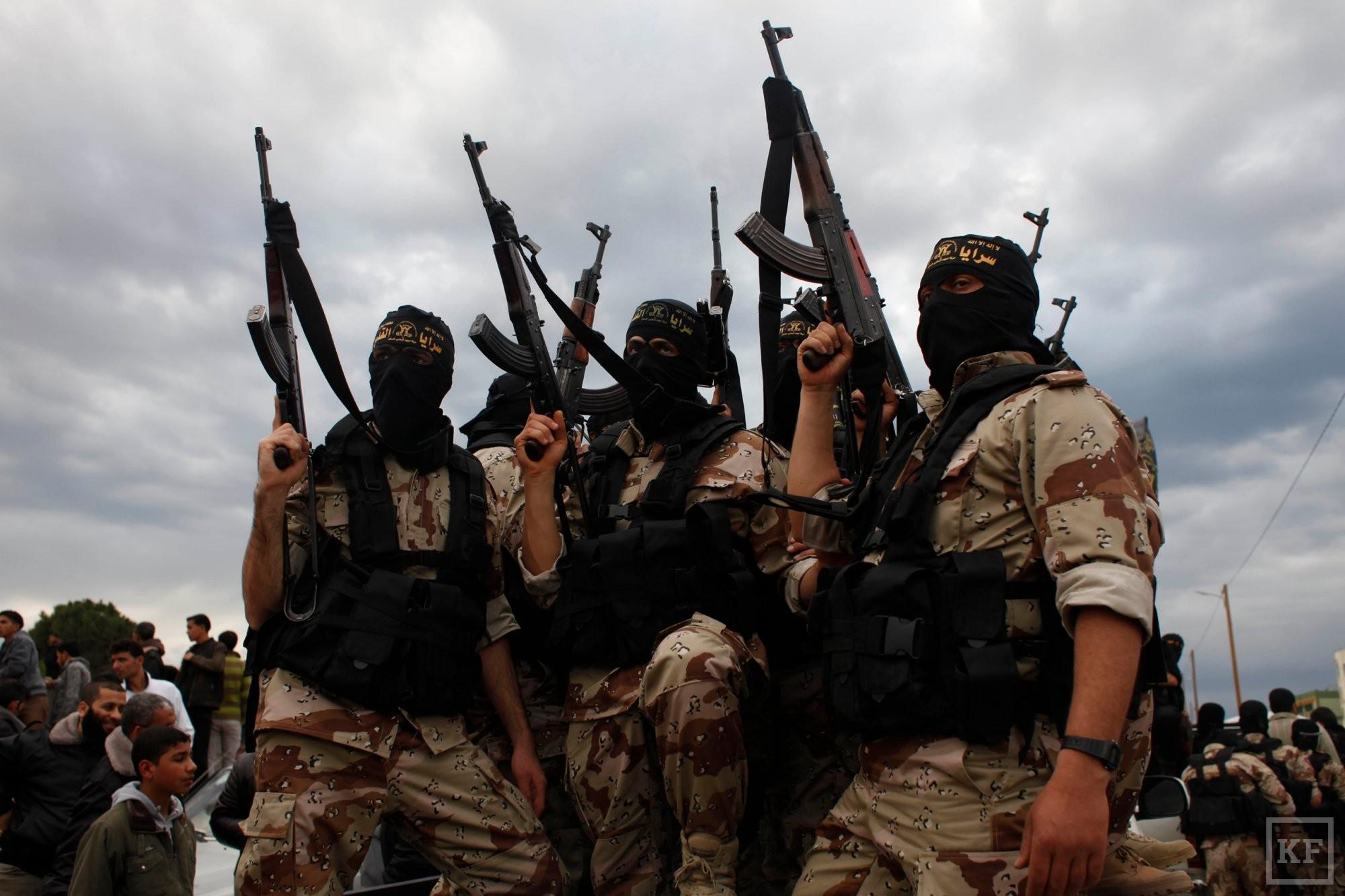Под боком у России создается террористическое государство