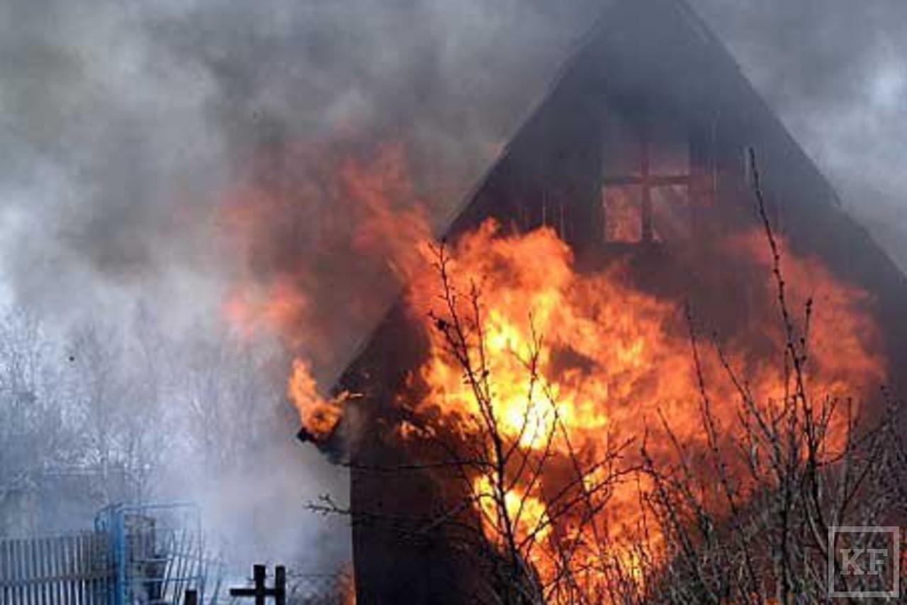 Сгорела дача в берёзки