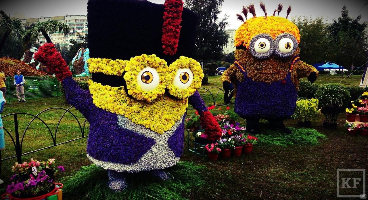 Фото фестиваль цветов в челнах