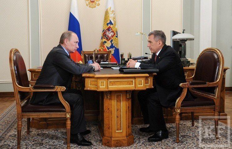 Встреча с главой Татарстана Рустамом Миннихановым