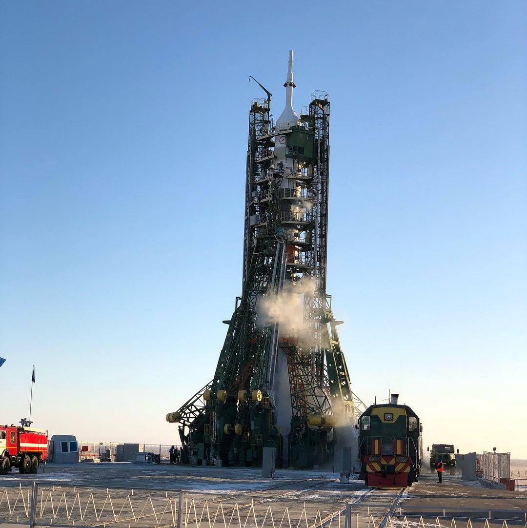 Минниханов прибыл накосмодром Байконур, чтобы проводить космонавтов «Союза»