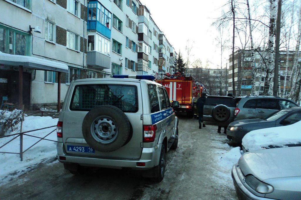 Мать исын погибли вовремя пожара вКазани