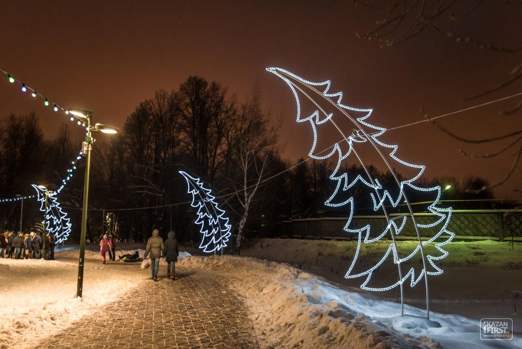 ВГоркинско-Ометьевском лесу появятся площадки для воркаута ипамп-трек