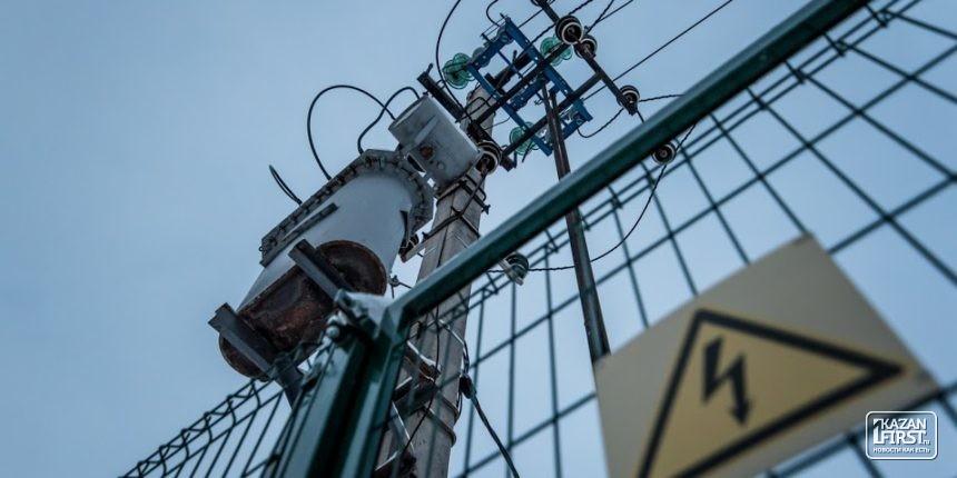 Граждане 2-х районов Казани 26октября останутся без электричества