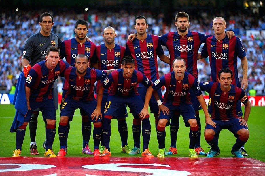 Барселона футбольный клуб состав команды